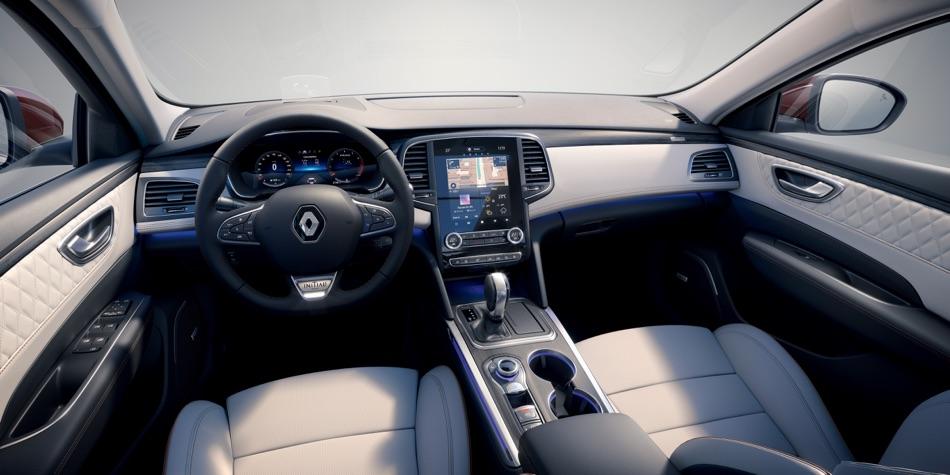 Interni di Renault Talisman restyling