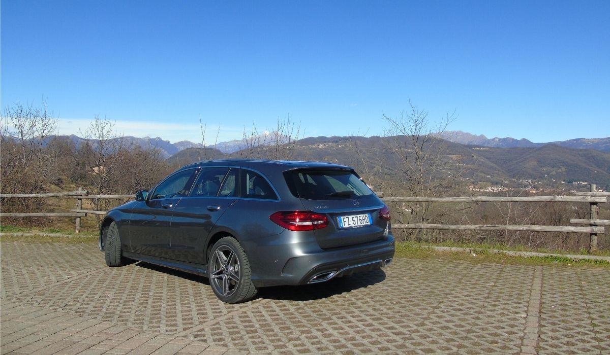 Mercedes Classe C ibrida plug-in diesel 2020