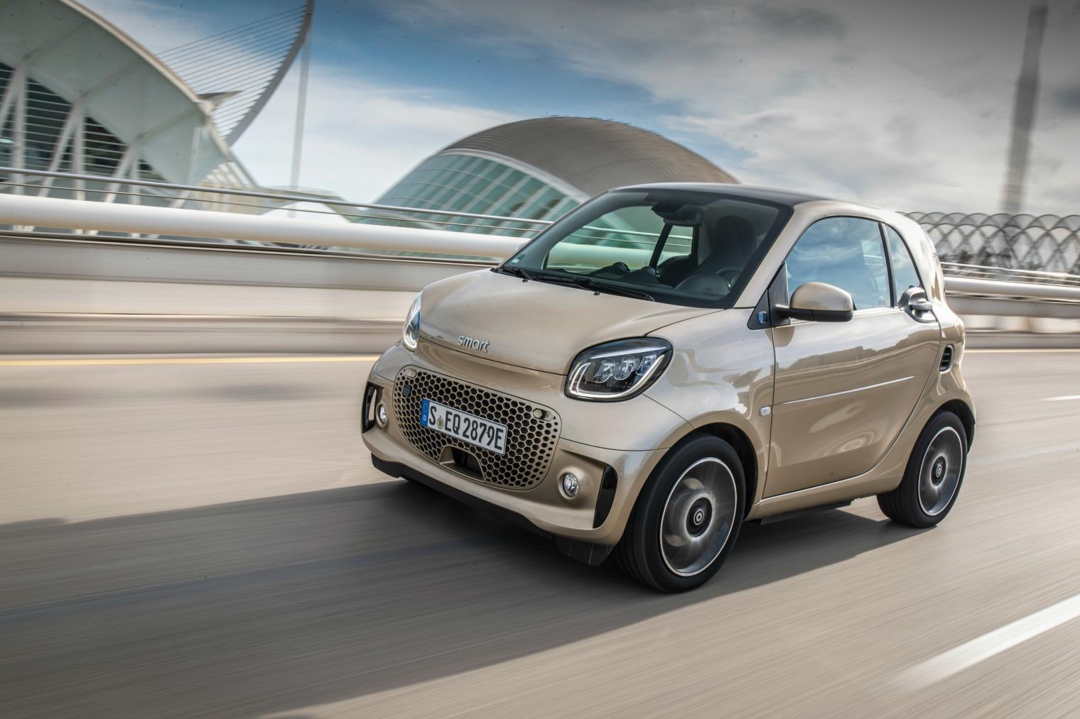 Motore nuova Smart EQ fortwo 2020