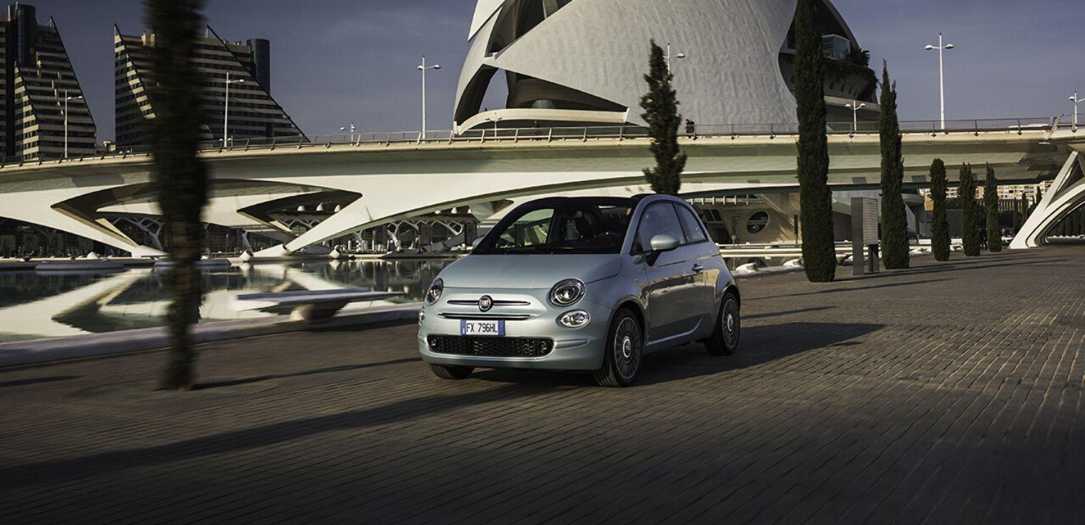 Nuova Fiat 500 ibrida 2020