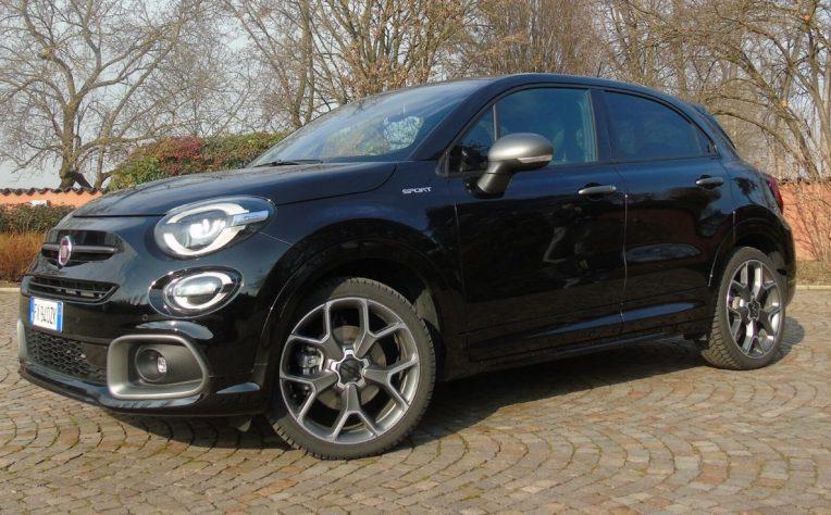 Nuova Fiat 500X Sport 2020 test drive