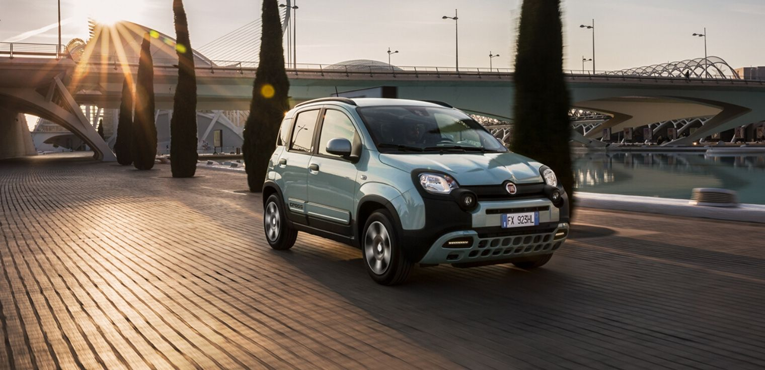 Nuova Fiat Panda ibrida 2020