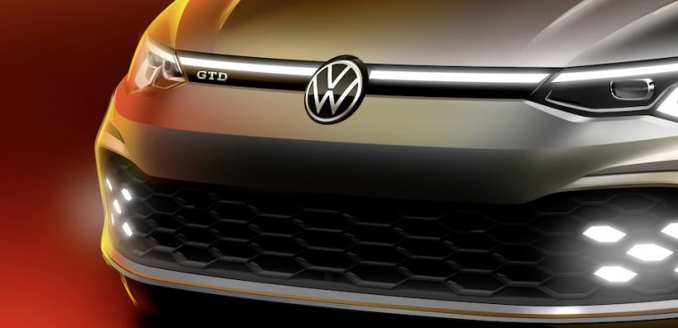 Nuova Volkswagen Golf GTD 2020