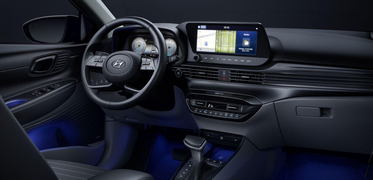 Nuova Hyundai i20 2020 abitacolo