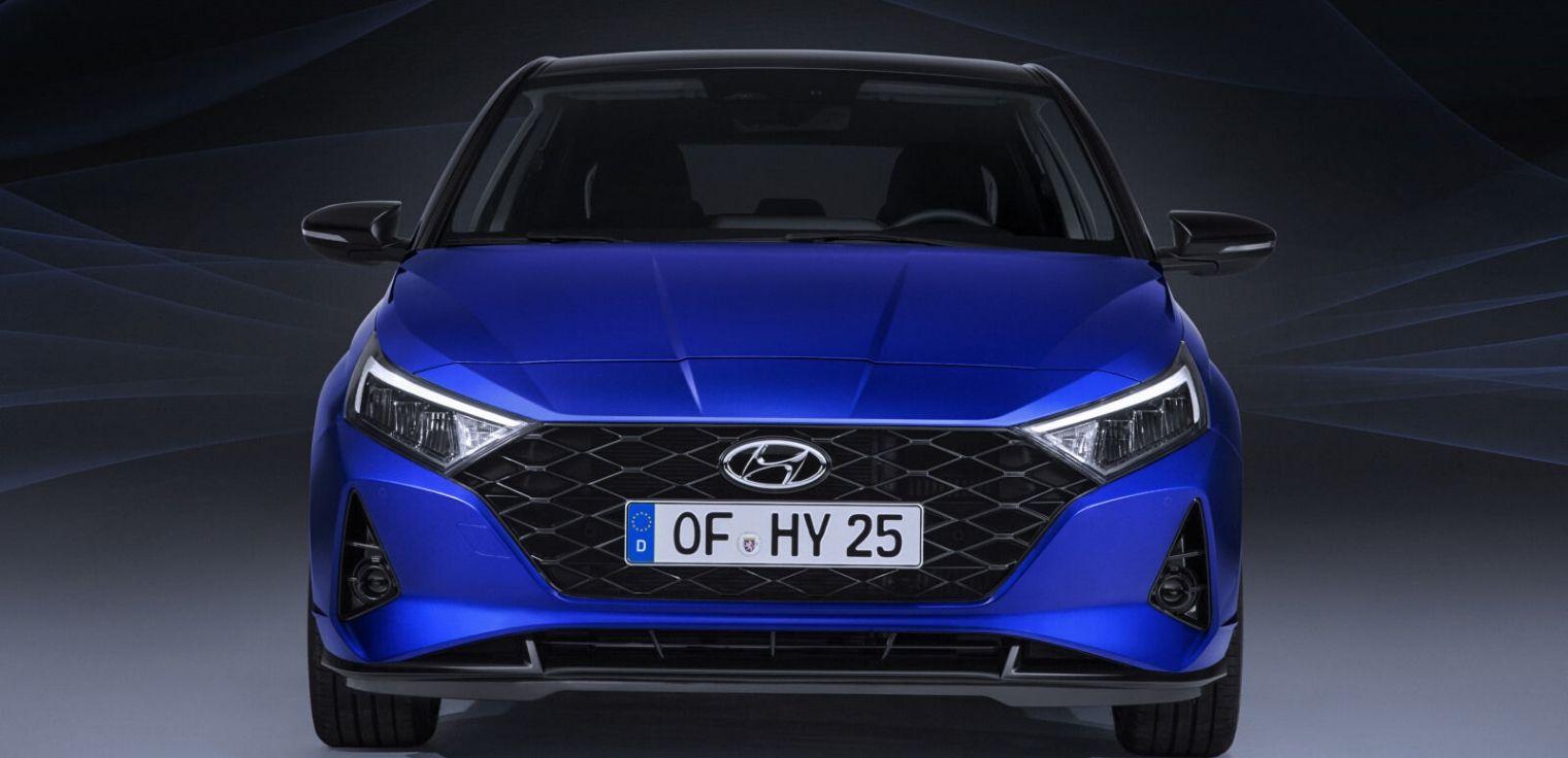 Nuova Hyundai i20 2020 frontale