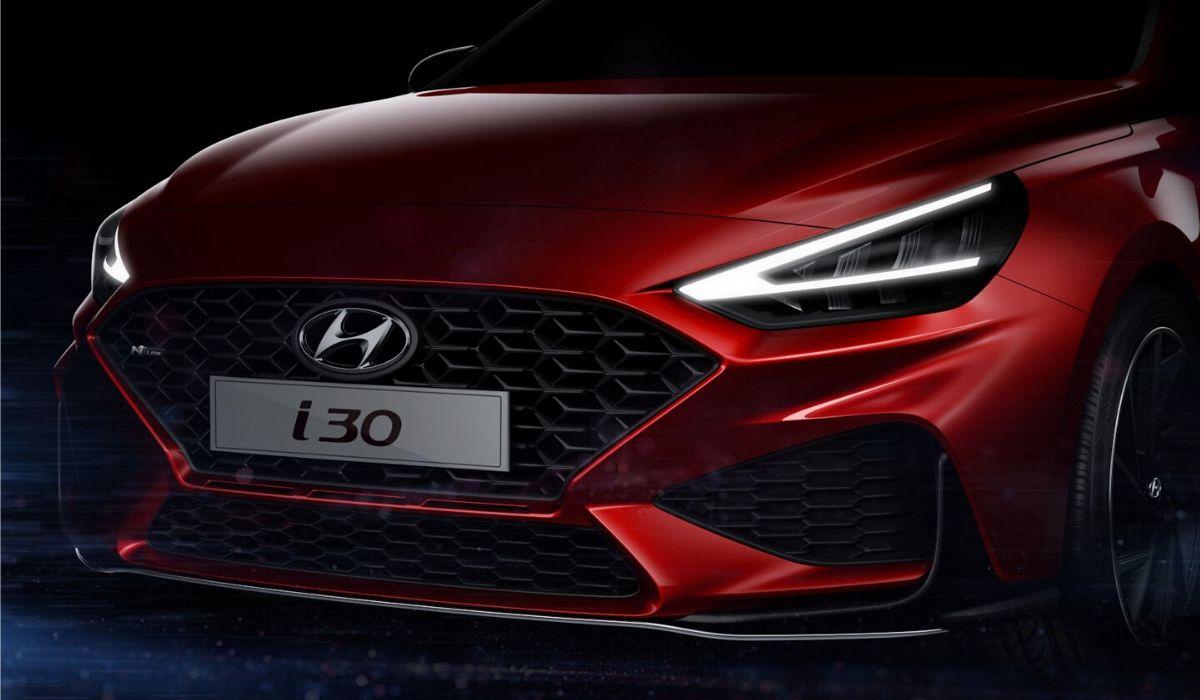 Nuova Hyundai i30 N Line 2020 frontale