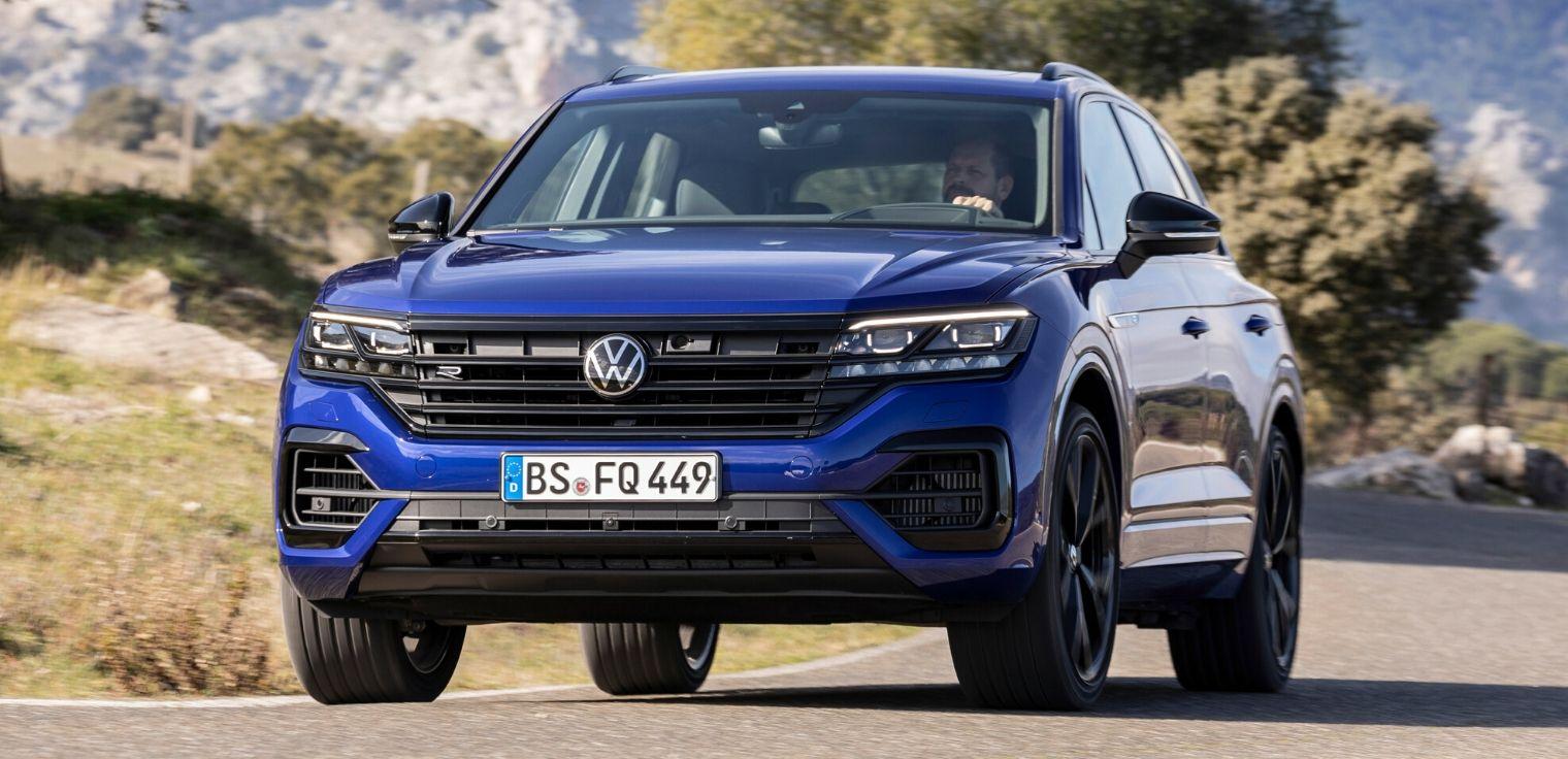 Nuova Volkswagen Touareg R 2020