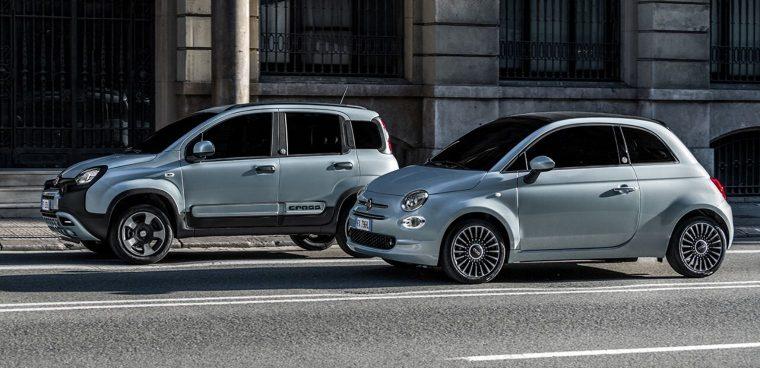 Nuove Fiat Panda e Fiat 500 Hybrid 2020