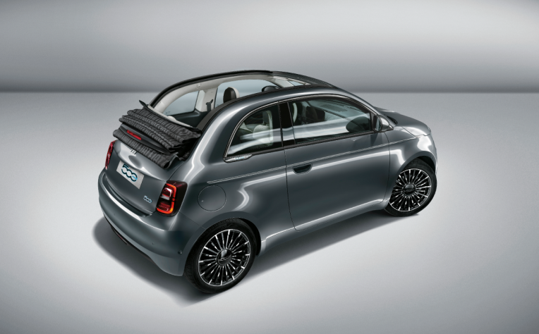 Adas nuova Fiat 500 elettrica
