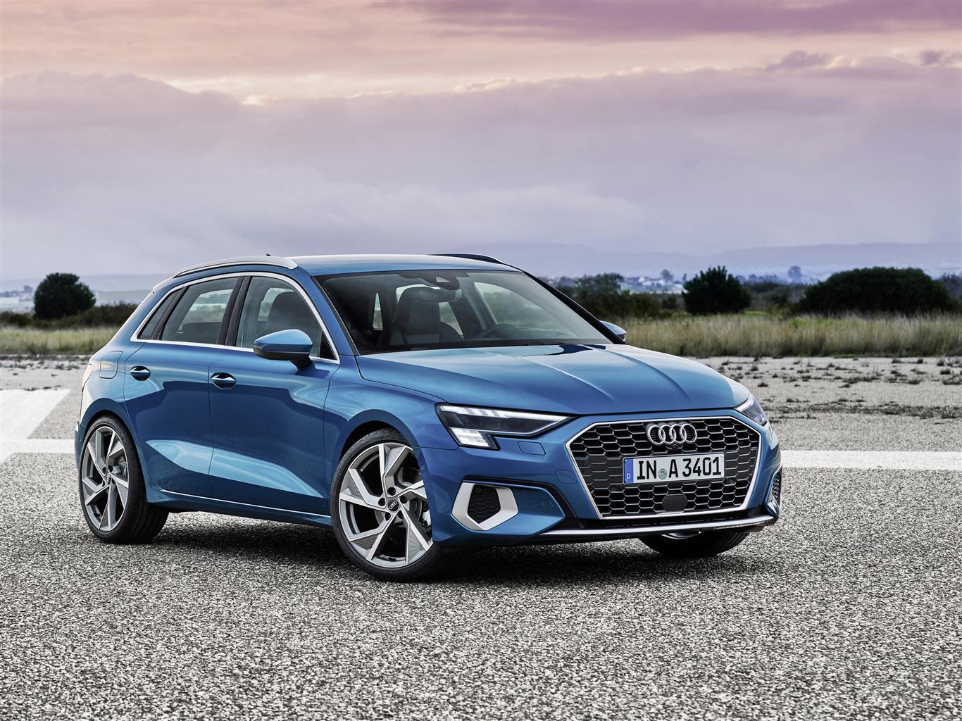 Esterni nuova Audi A3 Sportback