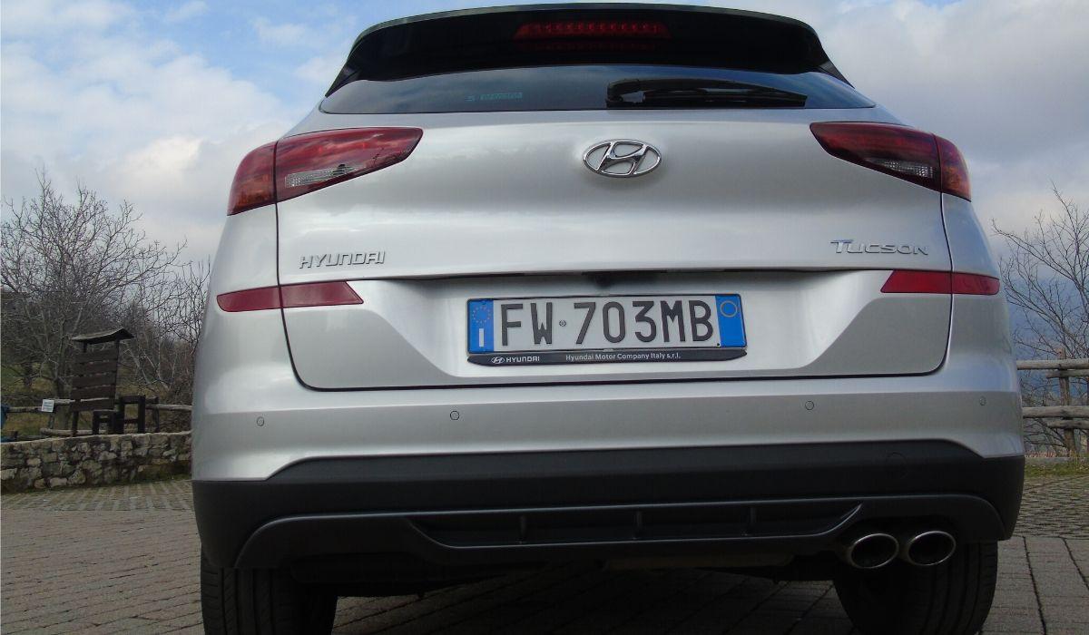 Hyundai Tucson posteriore