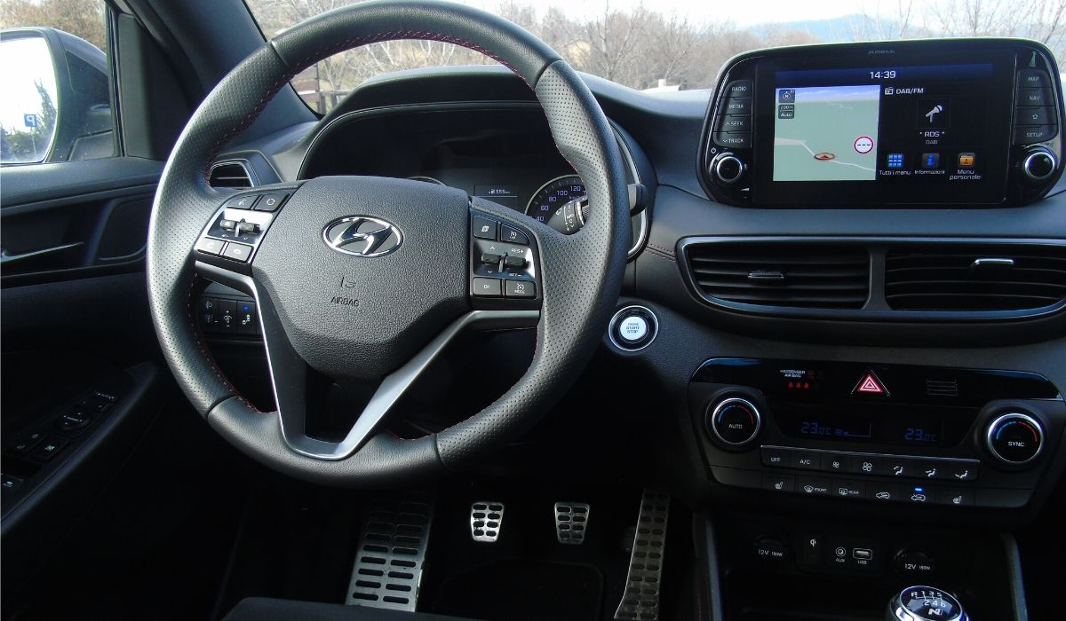Hyundai Tucson volante