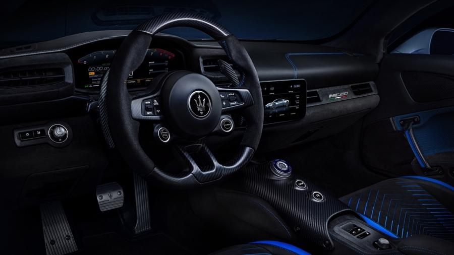 Interni di Maserati MC20