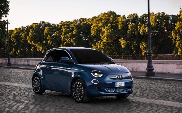 Nuova Fiat 500 elettrica la Prima
