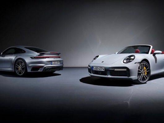 Nuova Porsche 911 Turbo S coupé e cabriolet