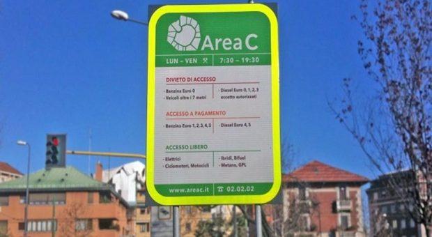 Area C e Area B sospese a Milano per il Coronavirus