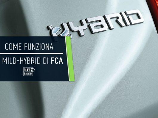 Come funziona il sistema mild hybrid di Fiat 500 e Panda ibride