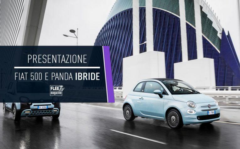 Le nuove Fiat 500 e Panda ibride 2020