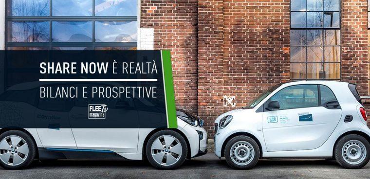 car sharing Share Now: bilanci e prospettive