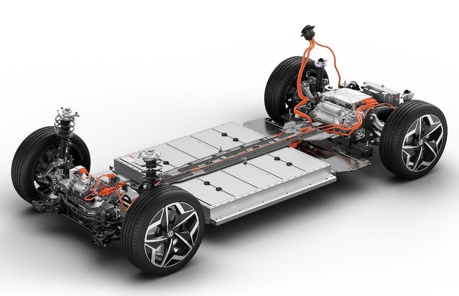 piattaforma specifica per auto elettrica
