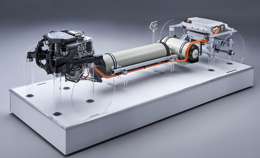 sistema BMW idrogeno 2025