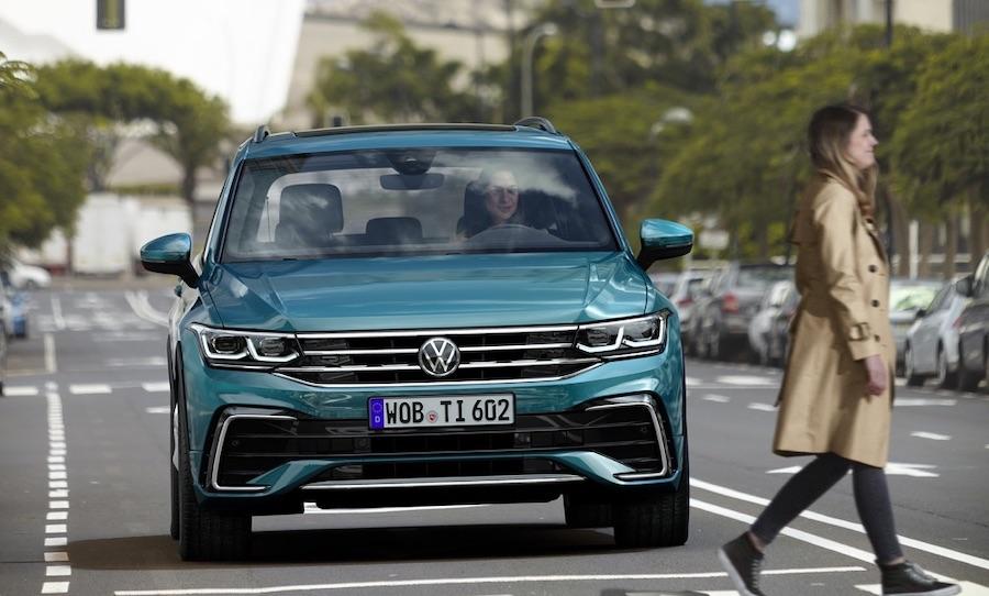 Adas di Volkswagen Tiguan 2021