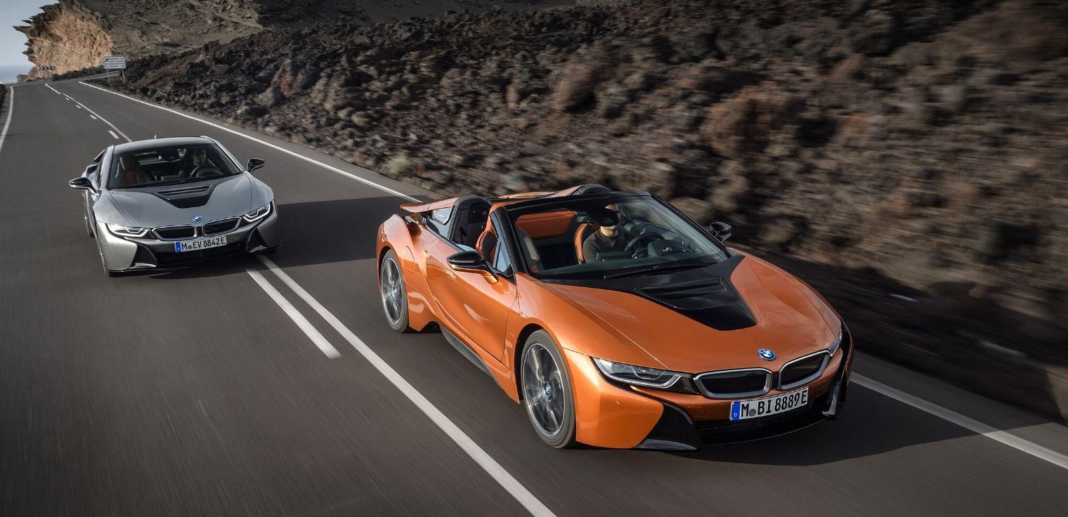 BMW i8 coupe e roadster