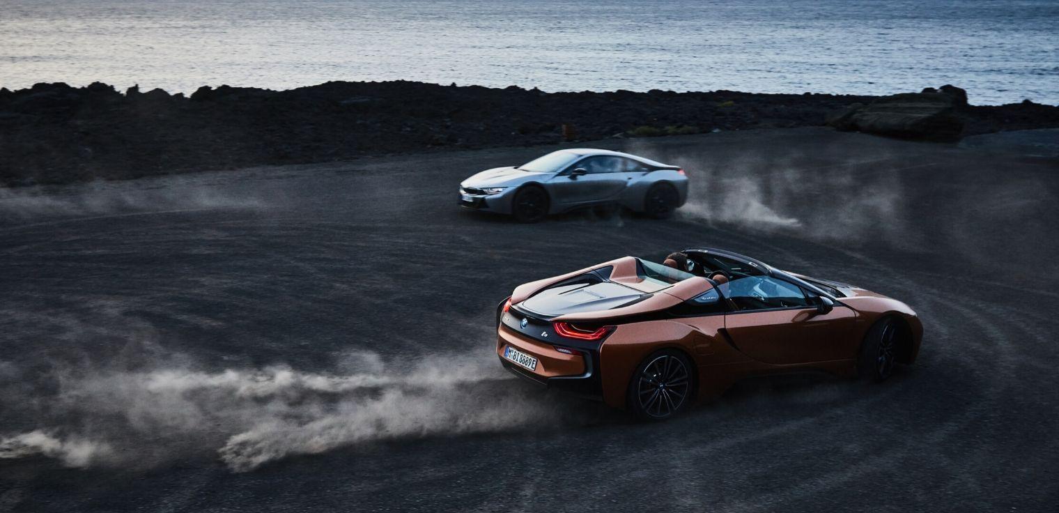 BMW i8 dinamica
