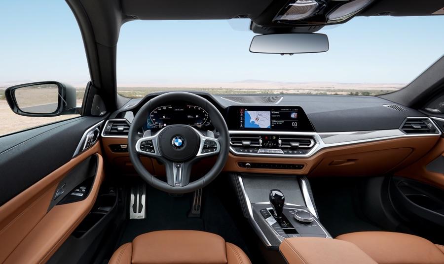Interni di BMW Serie 4