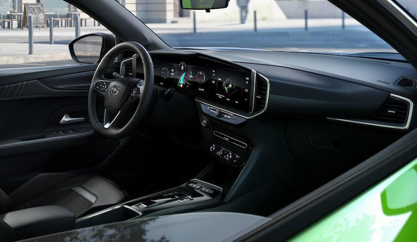 Interni di Opel Mokka