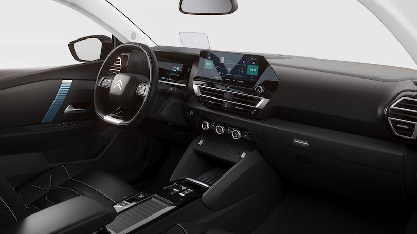 Interni di nuova Citroen C4