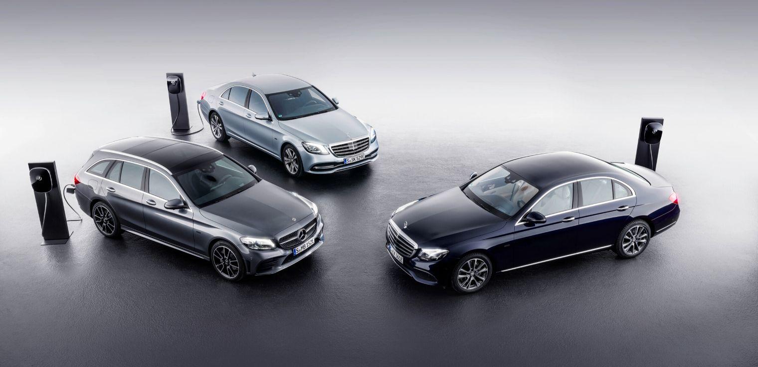 Mercedes Classe C - Mercedes Classe E - Mercedes Classe S auto ibride plug-in