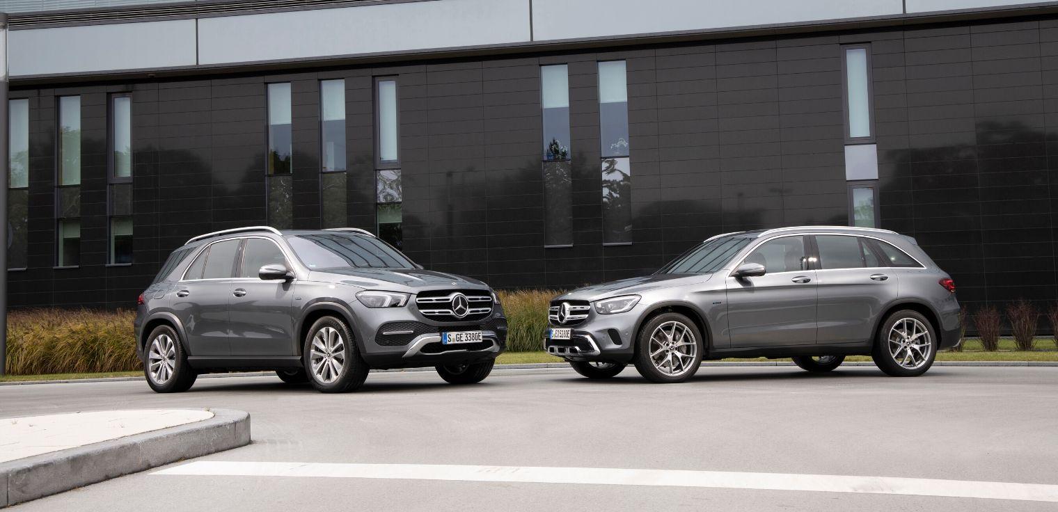Mercedes GLC ibrido plug-in - Mercedes GLE ibrido plug-in