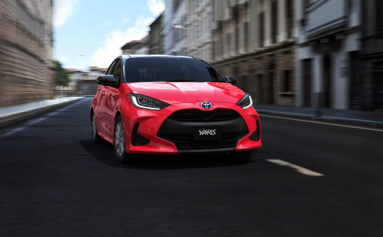 Motore nuova Toyota Yaris
