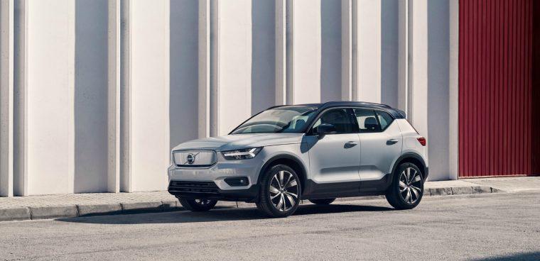 Motori elettrici nuova Volvo XC40 Recharge