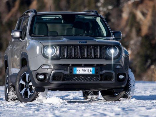 Nuova Jeep Renegade 4xe ibrida plug-in 2020