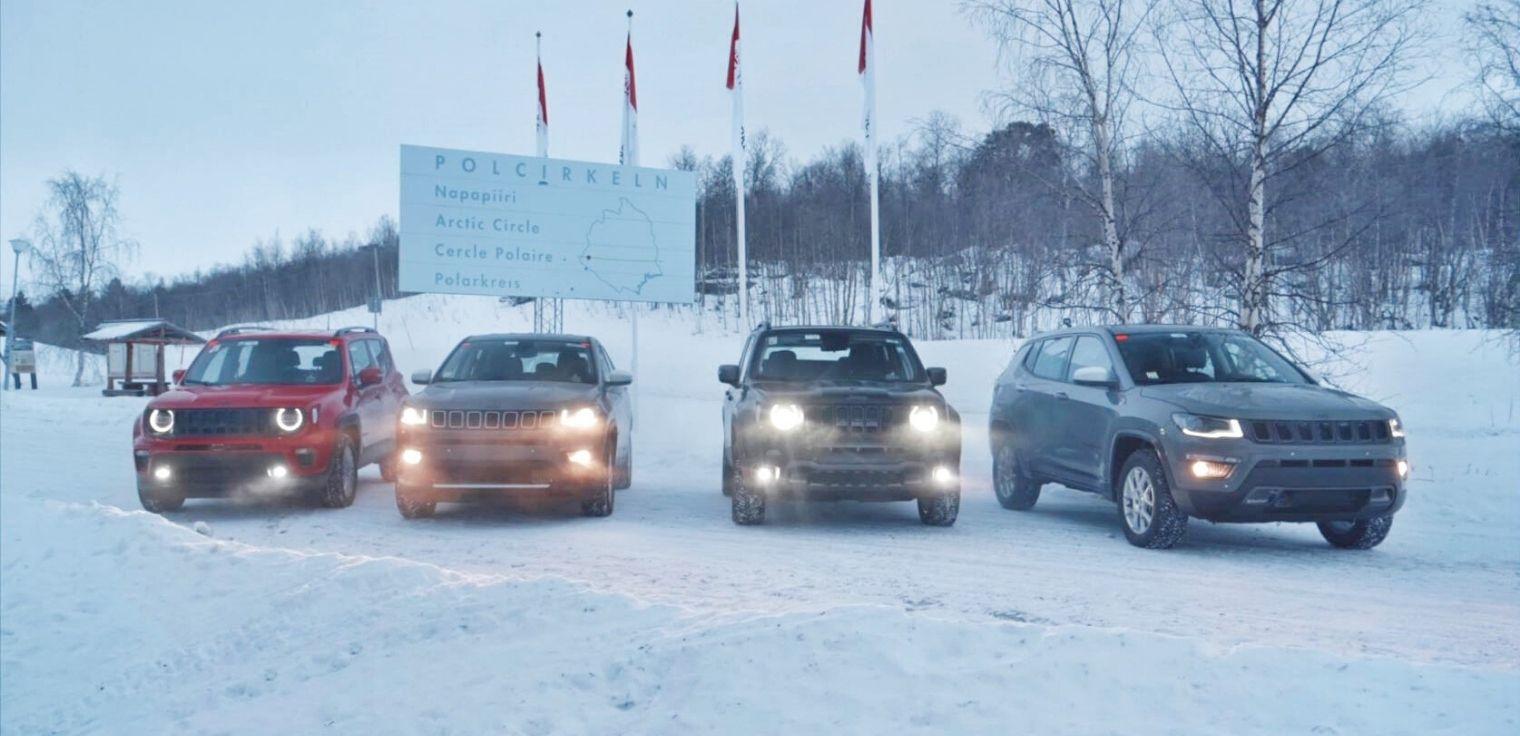 Nuove Jeep Renegade e Compass 4xe 2020 neve