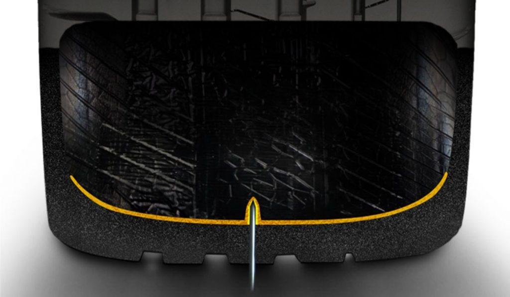 Pirelli seal inside tecnologia gomma auto