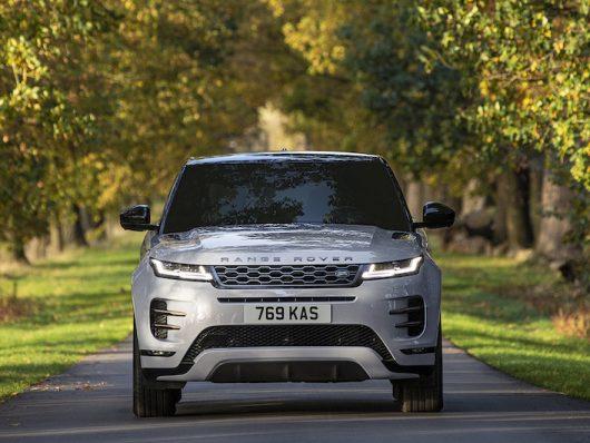 Range Rover Evoque ibrida plug-in