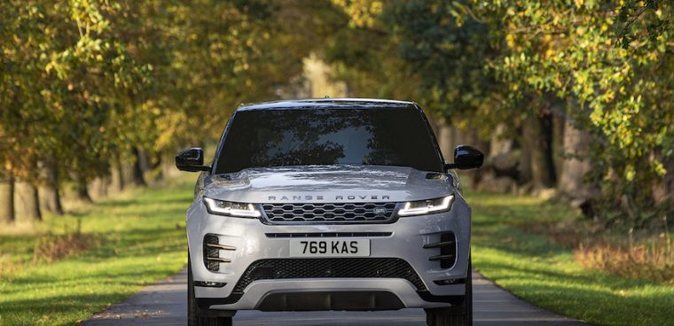 Range Rover Evoque ibrida plug-in