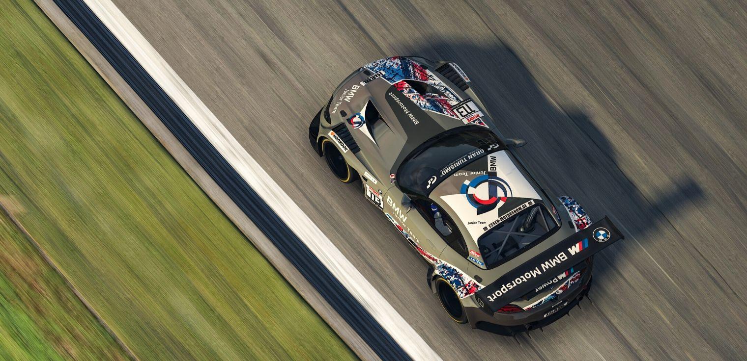 Sim racing BMW