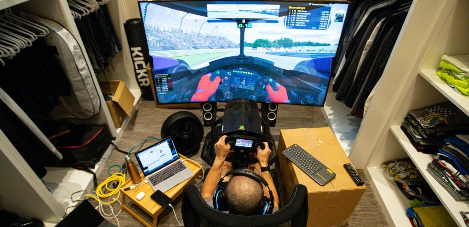 Sim racing gare virtuali