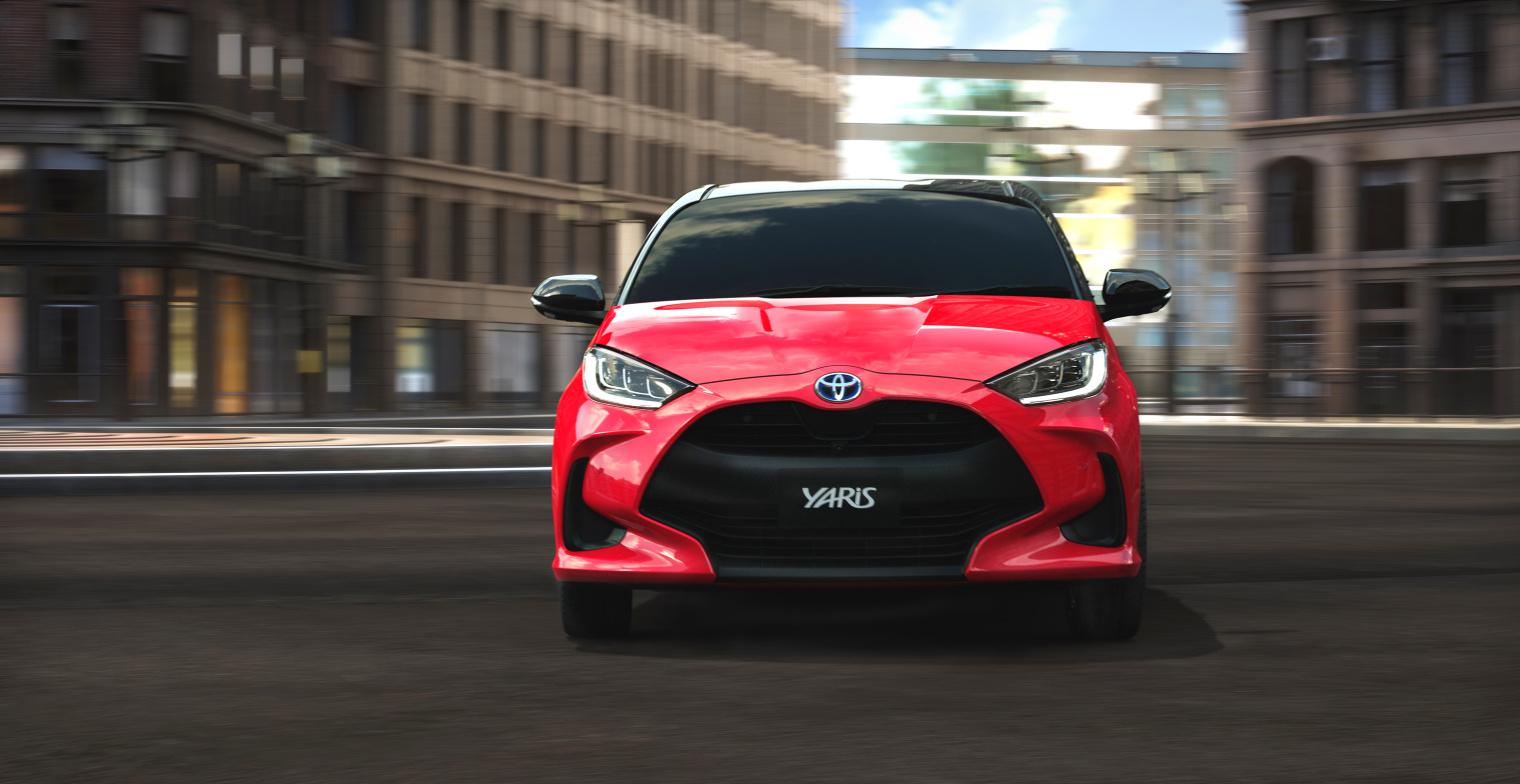 Storia Toyota Yaris