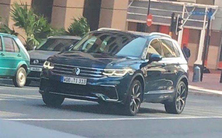 Volkswagen Tiguan restyling 2020