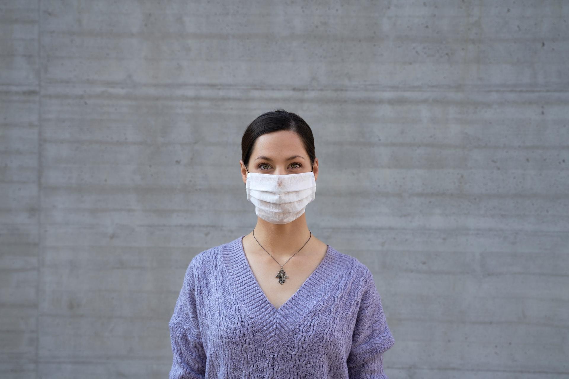 come usare la mascherina