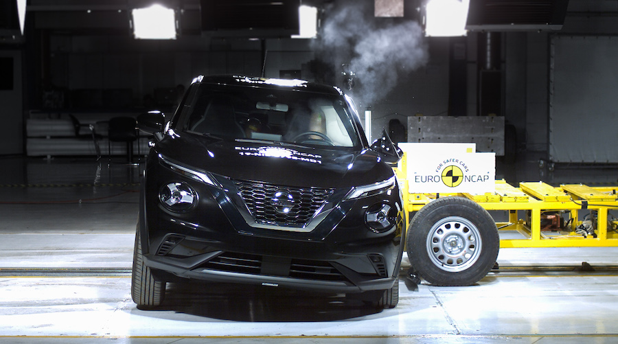 5 stelle Crash test EuroNcap