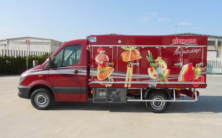 Eismann furgone