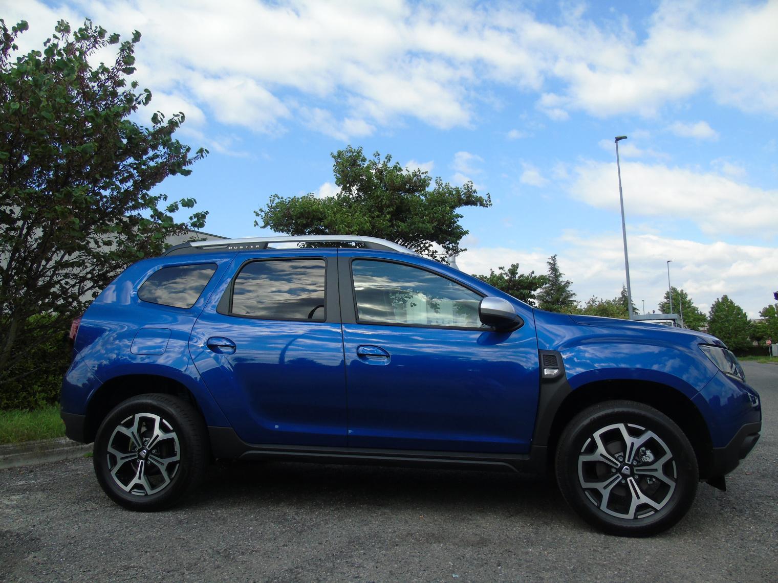 Esterni nuova Dacia Duster GPL