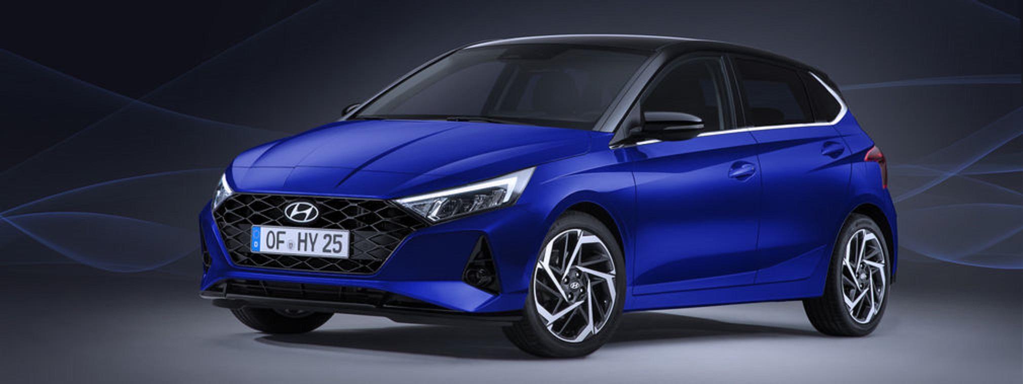 Esterni nuova Hyundai i20
