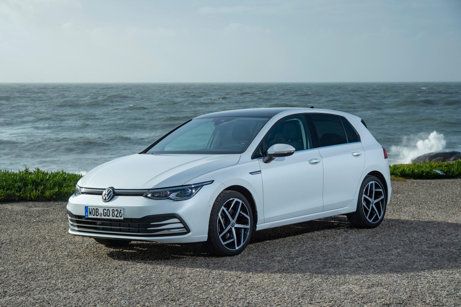 Esterni nuova Volkswagen Golf